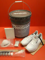Promotional REEBOK Paint Your Classic Kit Bucket And Shoes Mint Condition