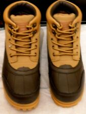 FILA Big Kid's Ridgewood Hiking Boots Wheat/Brown Sz.5.5 NIB