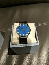 Skagen SKW6434 Reloj para Hombre, color Azul/Negro