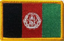 AFGHANISTAN Flag Patch W/ VELCRO® brand fastener Military Tactical Emblem