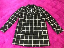Ex Dorothy Perkins Bourgogne Wrap Manteau Hiver Chaud Veste Avec Ceinture Tailles 6 To 22