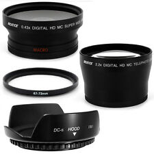 67mm Hood Flower Petal Wide Angle,Telephoto Lens for Nikon D5000 D7000 18-105mm
