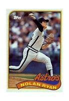 1989 Topps Nolan Ryan Houston Astros #530 Baseball Card