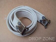 British Military Army .303 Lee Enfield L1A1 SLR Webbing Sling, Blanco'd White