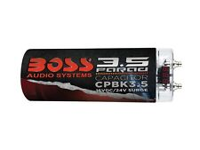 New BOSS CPBK3.5 3.5 Farad Capacitor/Cap LED Digital Voltage Meter (Black)