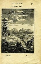 "1683 Genuine Antique print ""Peking"", China. A.M. Mallet"