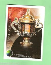 2003 INTERNATIONAL TROPHIES RUGBY UNION CARD - IT1  THE WILLIAM WEBB ELLIS  CUP