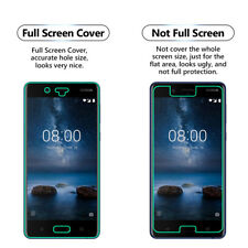 1 Pack FULL SCREEN Face Curved TPU Screen Protector Cover For Nokia 6.1 (2018)