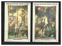 S31352) Smom 1984 MNH S.Giovanni Battista VI 2v