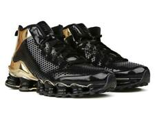 designer fashion 688d7 ffa51 NEW Nike Shox TLX MID SP Black, GOLD 677737-002 Size 10.5, 44.5