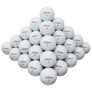 48 Titleist Mix Good Quality Used Golf Balls AAA *In a Free Bucket!*