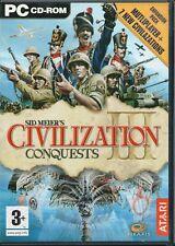 PC - Sid Meier's Civilization III Conquests  (Windows)