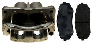 Disc Brake Caliper-Non-Coated Loaded with Ceramic Pads Front Left 18R2587 Reman