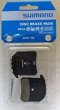 Shimano H01A Resin Disc Brake Pads w/ Ice-Tech Fin fits Saint/ Zee BR-M820/M640