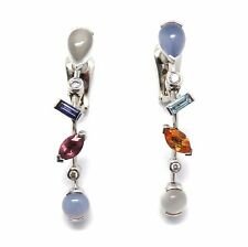 Cartier Platinum Meli Melo Earrings
