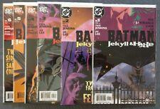 Batman: Jekyll & Hyde Complete 2005 Series Two Face. Jae Lee Art, NM!