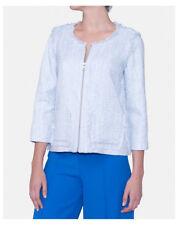 Manteaux et vestes bleu en polyester pour femme Taille 50