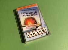 Live & Let Die The Computer Game [James Bond] Amstrad CPC Game - Encore (SCC)
