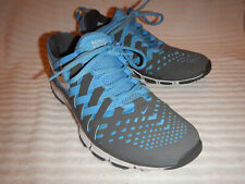 a69e9f7f3caf Nike Free 5.0 Running Shoes Lt-Blue + Gray Men s size 8.5 ...