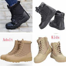 6944 Kids Adult Military Tactical Deploy Men Boot Men SWAT Boots Duty Work Shoes