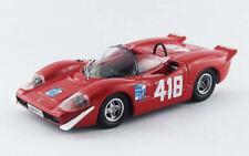 Abarth 2000 S #418 Trieste - Opicina 1969 F. Pilone 1:43 Model BEST MODELS