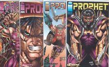 THE PROPHET (1993) #1 2 3 4 1-4 SET VF/NM IMAGE COMICS ROB LIEFELD