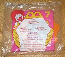 1996 Hunchback of Notre Dame McDonalds Happy Meal Esmeralda Tambourine #7