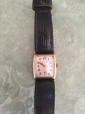 Vintage Tavannes Gold filled , 17 Jewel Wrist Watch - tested keeps perfect time