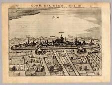 Ulm - Kupferstich - Petrus Bertius 1616