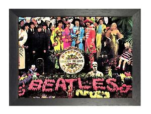 The Beatles Sgt. Pepper Fresco Picture Rock Band Photo Picture Music Poster