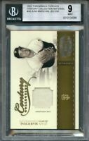 2004 throwback threads century coll material #44 JUAN MARICHAL JSY (pop 1) BGS 9