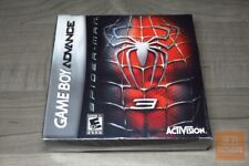 Spider-Man 3 (Game Boy Advance, GBA 2007) FACTORY SEALED!