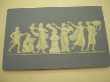 Vintage Like Wedgwood Style Blue Decorativ P 00006000 ottery Man & Ladies In Privacy