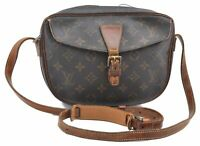 Authentic Louis Vuitton Monogram Jeune Fille Shoulder Bag LV B4920