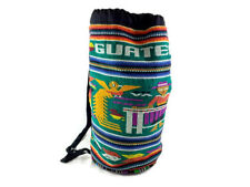 Guatemala Backpack Purse Hand Bag Stitch Needlepoint Beach Tote Tourist