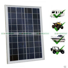 25Watt Solar Panel 25W Solar Power for Home Camping Boat 12Volt Battery Charge