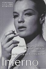 Index: 1881: Inferno ( Henri Georges Clouzot ) Romy Schneider ( 1. Auflage )