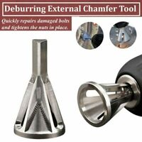 Deburring Repair Damaged Bolts Quickly Bolt Thread Repair Tool Drill Bit
