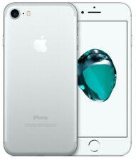 IPHONE 7 128GB Puede A Blanco Silver Plata Reacondicionados Apple Recuperado