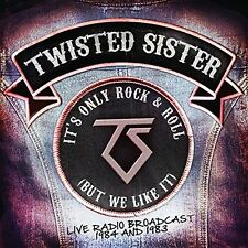TWISTED SISTER - ITS ONLY ROCK & ROLL (BUT WE LIKE IT)  2 CD NEUF