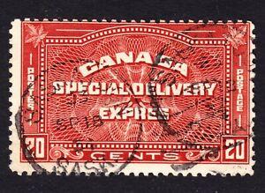 Canada Scott E5  Fine used with a nice SOTN Saskatoon SON cds.