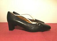 Valleverde Modello Mara, scarpe donna in vera pelle, colore nero N°37