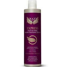 CRAZY ANGEL EXPRESS FAST ACTING SPRAY TAN SOLUTION 200ML GENUINE ITEM
