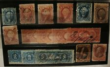 United States Assorted Used Revenue Stamps (17)