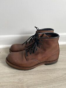 Red wing heritage Leather 4579 boots factory first boots