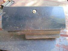 81-87 K5 BLAZER SILVERADO C10 PICKUP TRUCK GLOVE BOX COMPLETE W/ TRAY BLUE OEM