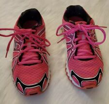 K-SWISS TUBES 130 Womens Sneakers Running Shoes Pink Black and White  Size 6