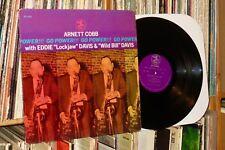 """ARNETT COBB """"Go Power!"""" 1970 Prestige LP (rudy van gelder)"""
