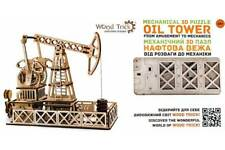 Oil Rig-woodtrick mécanique 3D en bois modèle & PUZZLE Kit