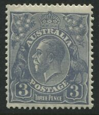 Australia 1929 KGV Head 3d ultra mint o.g.